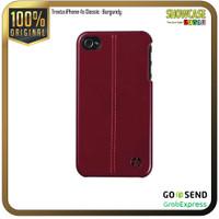 Trexta Casing iPhone 4s 4 Hardcase Motif Slim Thin Tipis Orla Classic - Classic-Burgund