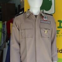Baju seragam satpam -terbaru PDL SATU Bahan GAIA Neo Premium (Atasan)
