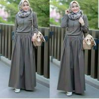 Baju Gamis Lebaran 2021 Kondangan Wanita Muslim Remaja Dewasa Terbaru