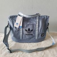 tas wanita murah tote bag adidas canvas kanvas / tote bag import - blue