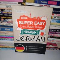 BUKU ASLI super easy cara mudah belajar bahasa Jerman - Dian - kresna