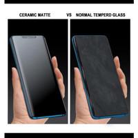 Samsung A950 A9 2018 6.3 Anti Gores Ceramic Matte Glare Anti Minyak