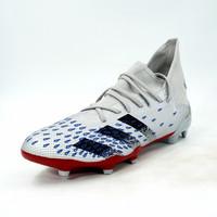 Sepatu Bola Adidas Original Predator Freak 3 FG Silver Metallic FY2219