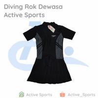 Baju Renang Diving Dewasa Rok Speedo - 1. Biru, M