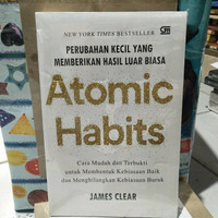 buku atomic habits by James Clear