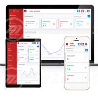 Aplikasi PARKIR QR CODE - support laptop - desktop - mobile smartphone