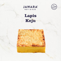 Lapis Legit Keju | Jawara Roti & Kue | 19 x 19 cm | Kue Lapis