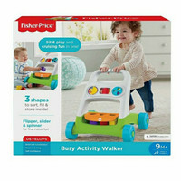 fisher price busy activity walker