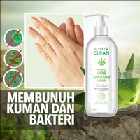 SECRET CLEAN ANTISEPTIC HAND SANITIZER Liquid/GEL 500ml ALOE VERA