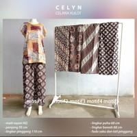 Celana Kulot Batik Wanita Panjang Matt Rayon Adem Nyaman Terkini