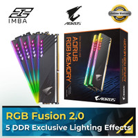 GIGABYTE AORUS RGB 16GB (8X2) DDR4 3600MHz [RAM]