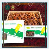 Kurma Sukari Original Alqassim kemasan dus 1kg Premium Asli Sukkari