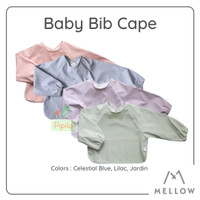 Mellow Long Sleeve Bib Cape / Baju Celemek Bayi Anak