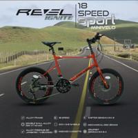 Sepeda MiniVelo Revel Ignite 16 / 18 Speed 20 inch mix MTB Foldingbike