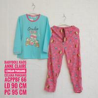 Setelan Kaos ANNE CLAIRE Lengan dan Celana Panjang Bodyfit (ACPPBF)