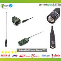 Antena Lentur Radio HT Nagoya 771 Bf 888s UV 82 UV 5R Female Baofeng