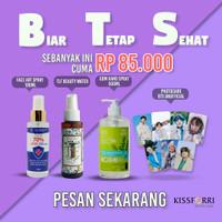 Promo Paket Hemat Handsanitizer GRATIS BTS Photocard Unofficial