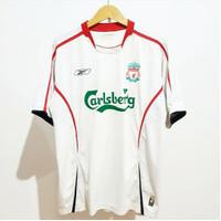 Jersey Liverpool 2005-2006 Away Original Ori LFC Inggris England Retro