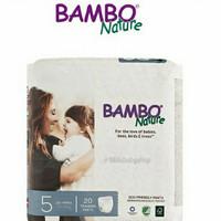 Bambo bamboo nature dream training pants no. 5 popok celana isi 20
