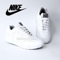 sepatu sneaker /sepatu nike/ sepatu full white/ sepatu polos putih