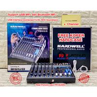 Mixer Audio HARDWELL Levelup 6 / Levelup6 ORIGINAL Bluetooth Soundcard