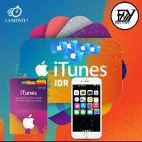 Apple Gift Card IDR Indonesia 200 500 Code Redeem indo