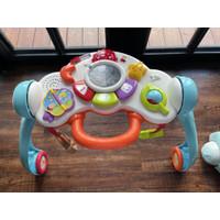 vtech 3 in 1 baby push walker mainan anak - preloved