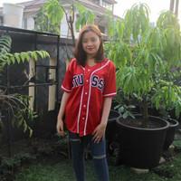 Jersey baseball - Baju baseball Pria Wanita bisa COD paling keren - 01