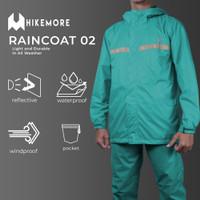 Rainshield Jas Hujan Motor Pria Anti Rembes Hikemore 02 Series