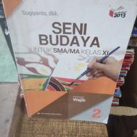 buku seni budaya SMA/ MA kelas 2-11 penerbit Erlangga