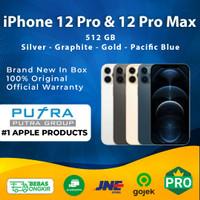 (IBOX) iPhone 12 Pro & 12 Pro Max 512GB Pacific Blue - Graphite - Gold