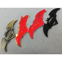 emblem METAL batman superman stiker 3d untuk aksesoris mobil - motor