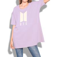 Kaos BTS Oversize Kaos BTS Oversized T-Shirt BTS Army