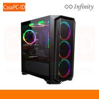 Casing PC Case Infinity SPYDER Include 3 Auto Ring Fan