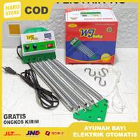Mesin Ayunan Bayi Elektrik Otomatis / Ayunan Bayi Listrik 001 Merk WJ - WJ Baby