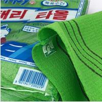 Handuk lulur Italy Towel Asli Korea / body scrub - termurah