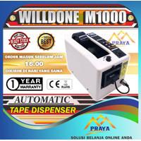 Mesin Automatic tape Dispenser M1000 Pemotong Selotip otomatis solasi