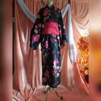 yukata kimono baju adat tradisional jepang kostum costume rd001