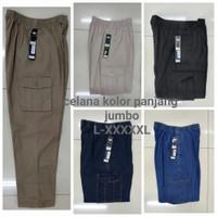 celana pinggang karet   kolor   cargo jeans   cowok /cewek   big size
