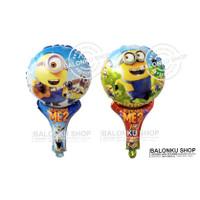 Balon Tongkat / Balon Foil Pentung / Balon Karakter MInion