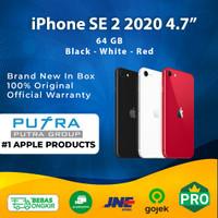(NEW) iPhone 64GB SE 2 2020 Black - White - Red Original Apple 64 SE2