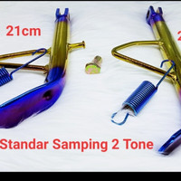 Standar Samping Twotone Ring 14 & 17 Honda Yamaha Mio Mio j Scoopy new - 14