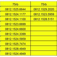 nomor cantik simpati kartu perdana telkomsel nocan 11 digit murah gsm