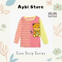 [ Kozzo Kids ] - Baju Kaos Anak Perempuan Lengan Panjang - HB - 2-12T - 2-3 tahun