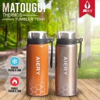 Botol Minum/Thermos A36321-42 Termos Air Panas/Dingin Vacuum 750ml