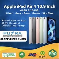 (IBOX) iPad Air 4 2020 64GB 256GB Garansi Resmi Wifi Cellular 64 256 - 64 WIFI Inter, Space Grey
