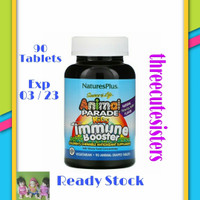 Natures Plus Animal Parade Immune Booster Kids 90 Tablets