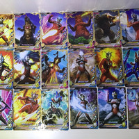kartu Ultraman fusion fight r/b rare ver.1 ori
