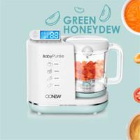 Oonew Baby Pure Food Processor 6in1 Steamer Blender Mpasi - Green - Tas