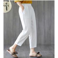CELANA Panjang wanita putih white pants trousers baju kantor